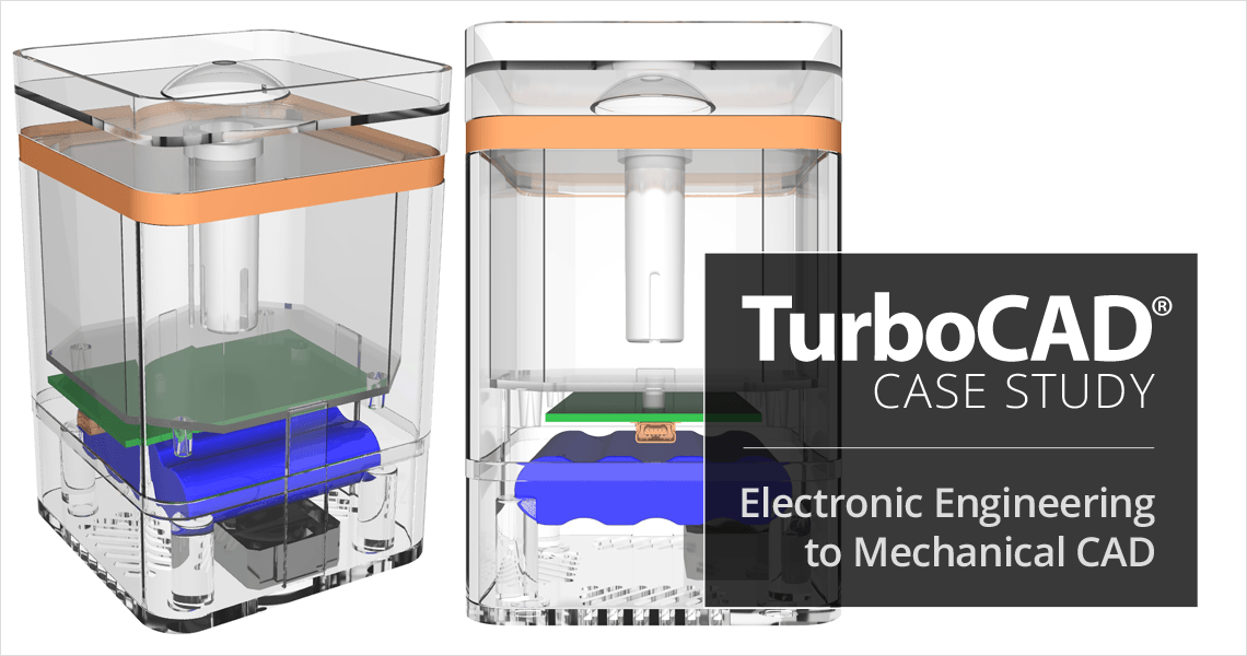 TurboCAD Helps Electronic Engineering Consultant Expand into Mechanical CAD