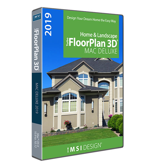 TurboFloorPlan Home and Landscape Deluxe Mac 2019