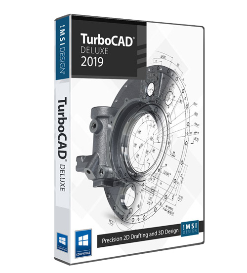 TurboCAD 2019 Deluxe Annual Subscription