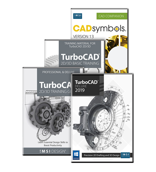 TurboCAD 2019 Deluxe Bundle