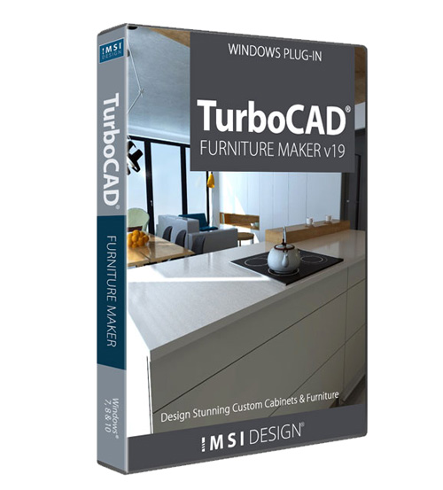 TurboCAD Furniture Maker V19