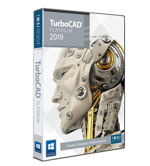 TurboCAD 2019 Platinum Upgrade from all other pre 2018 Platinum and Pro owners