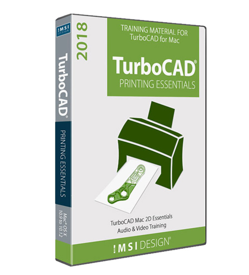 TurboCAD Mac Printing Essentials