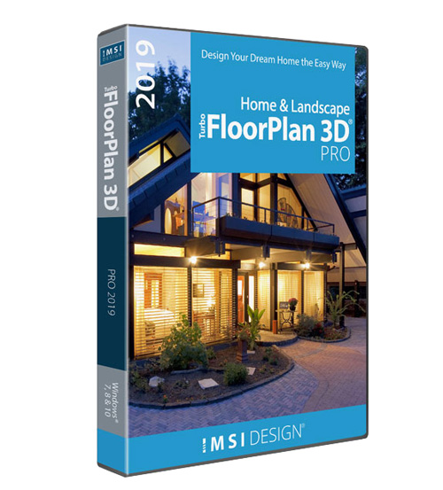 TurboFloorPlan Home and Landscape Pro 2019