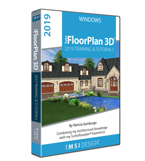 TurboFloorPlan 2019: Training & Tutorials - Mac Version - by Patricia Gamburgo