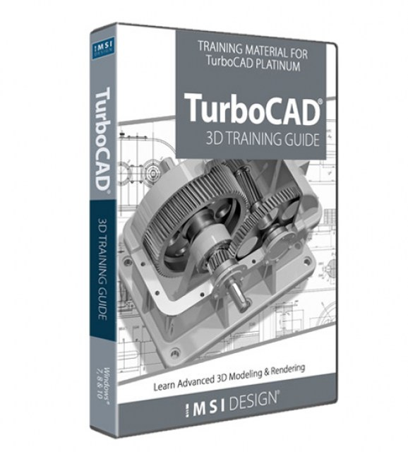3D Training Guide for TurboCAD 2019 Platinum