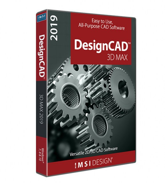 DesignCAD 3D Max 2019 (Upgrade From pre v24)