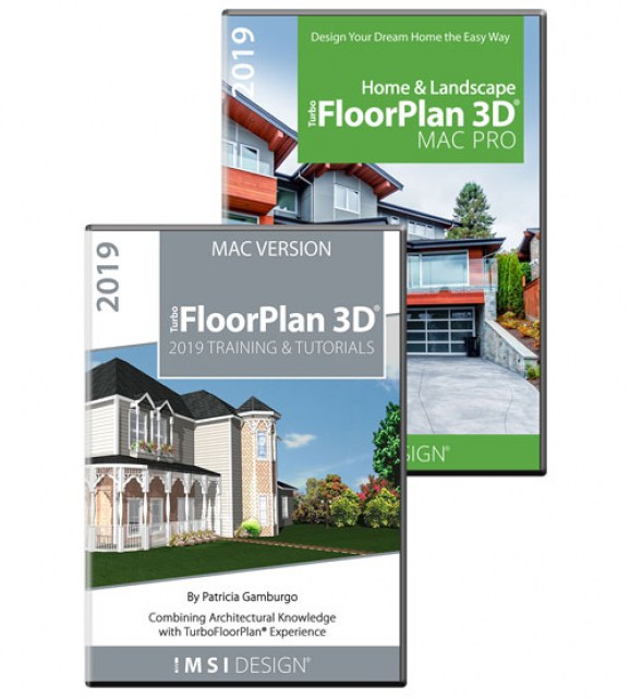 TurboFloorPlan Pro 2019 MAC and Training Bundle