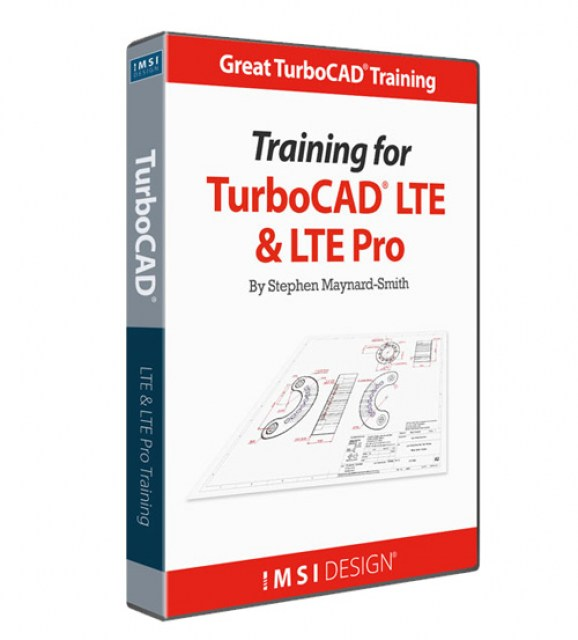 Training for TurboCAD LTE and LTE Pro