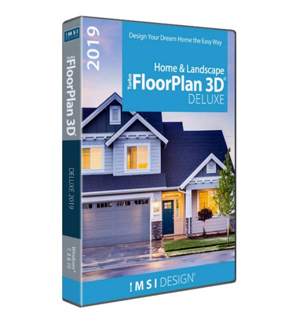 TurboFloorPlan Home and Landscape Deluxe 2019