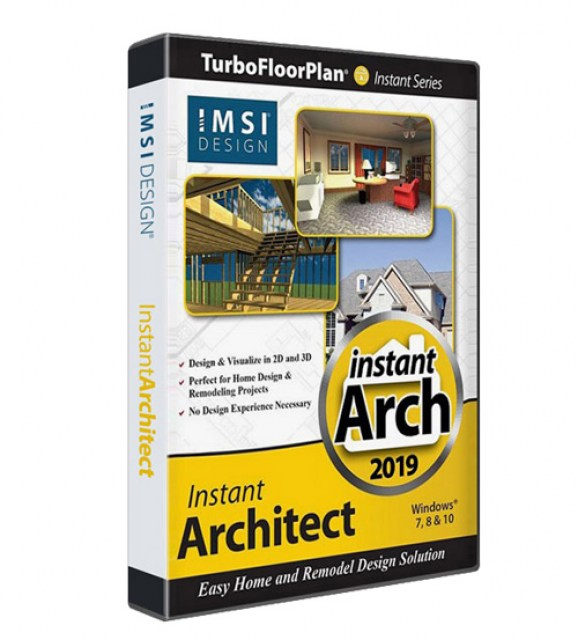 TurboFloorPlan Instant Architect 2019