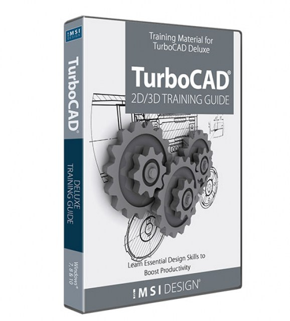 2D/3D Training Guides for TurboCAD Deluxe 2018