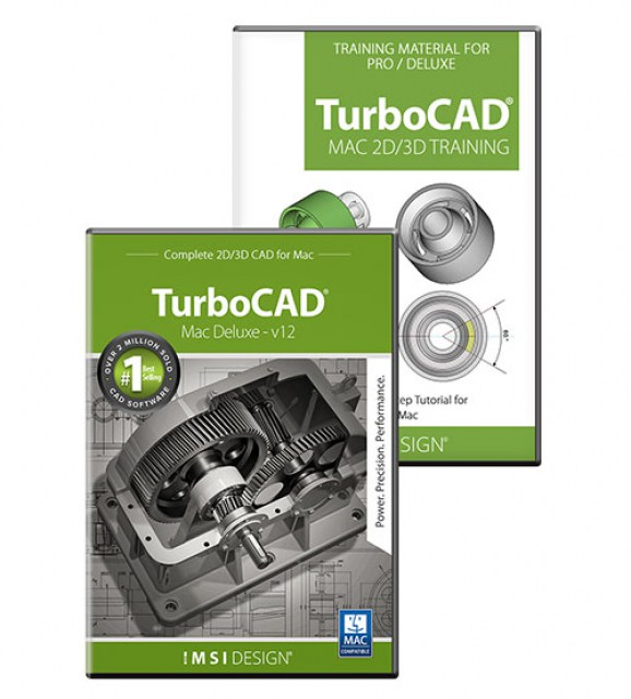 TurboCAD Mac Deluxe v11 and Training Bundle