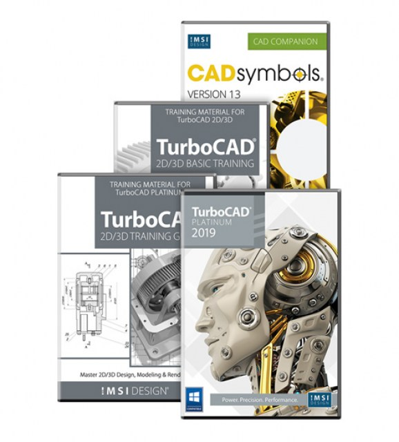 TurboCAD 2019 Platinum Bundle