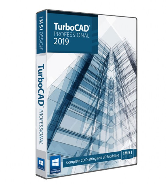 TurboCAD 2019 Professional Reseller ESD