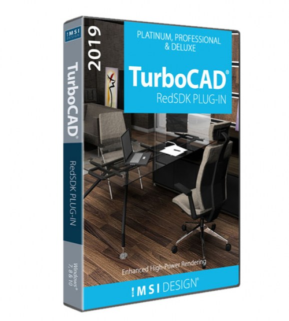 RedSDK Plug-in for TurboCAD 2019